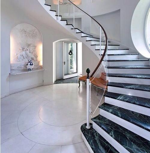 Scala interne marmo carrara suzuki cars - Granito per scale ...